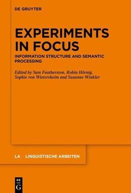 Experiments in Focus
