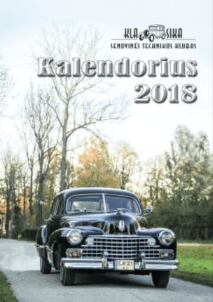 2018 metų senovinės technikos kalendorius