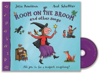 Room on the Broom and Other Songs. Book + CD