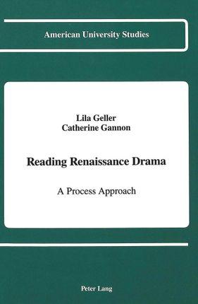 Reading Renaissance Drama