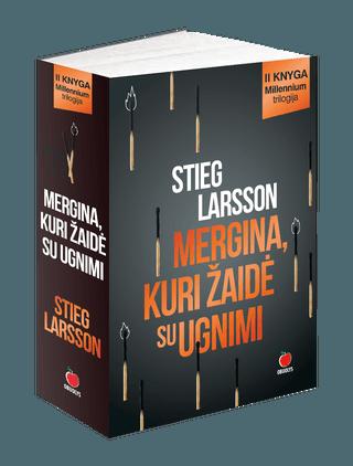 Mergina, kuri žaidė su ugnimi - Millennium trilogijos II dalis, pasaulinis fenomenas ir didžiausias detektyvų bestseleris Europoje!