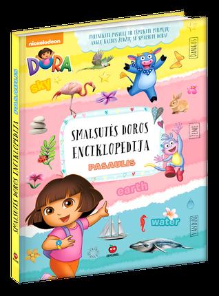 DORA: DIDŽIOJI SMALSUTĖS DOROS ENCIKLOPEDIJA - vaikai galės tyrinėti ir pažinti pasaulį, o svarbiausia - išmokti pirmųjų ir labai naudingų anglų kalbos žodžių. Didelio formato gausiai iliustruota knyga kietais viršeliais - ideali DOVANA bet kokia proga!