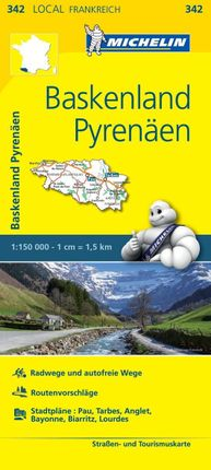 Michelin Baskenland - Pyrenäen