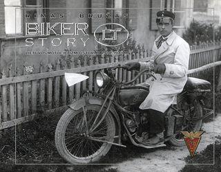 Biker Story LT. Lietuvos motociklizmo istorija 1918 - 1940