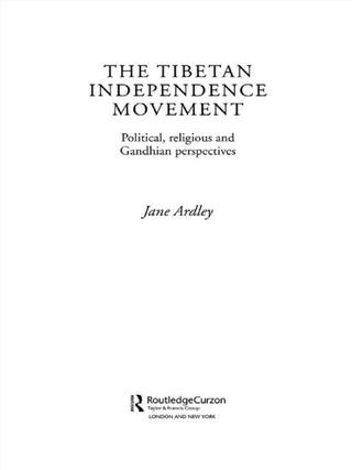 The Tibetan Independence Movement