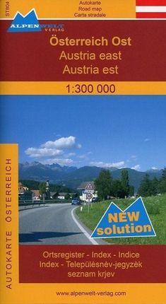 Österreich Ost 1 : 300 000 Autokarte