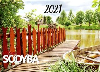 """2021 m. sieninis kalendorius """"Mano sodyba"""""""