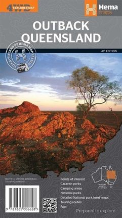 Queensland Outback  1 : 1.500 000