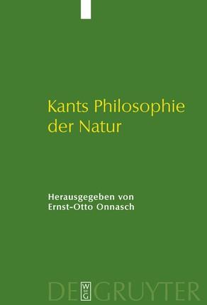 Kants Philosophie der Natur