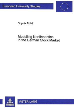 Modelling Nonlinearities in the German Stock Market