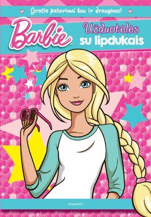 Barbie. Užduotėlės su lipdukais