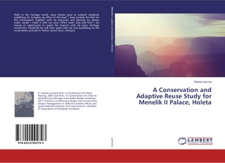A Conservation and Adaptive Reuse Study for Menelik II Palace, Holeta