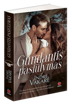 GUNDANTIS PASIŪLYMAS: naujausias meilės romanų autorės Indrės Vakarės romanas – jausminga dovana tikroms romantikėms