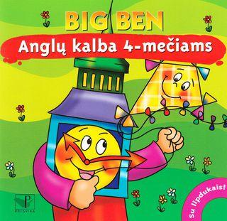 Big Ben. Anglų kalba 4-mečiams