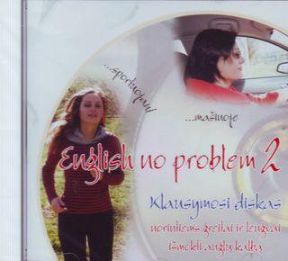 Anglų kalba be problemų: 2 klausymosi diskas