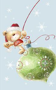 Kalėdinis mini atvirukas