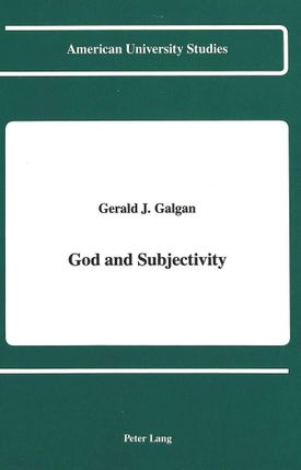 God and Subjectivity