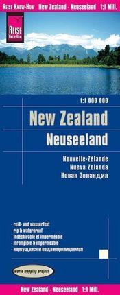 Reise Know-How Landkarte Neuseeland 1 : 1.000.000