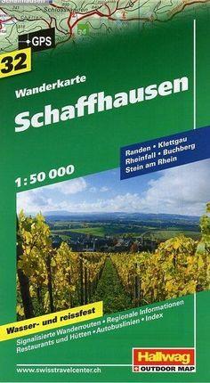 Schaffhausen Wanderkarte 1 : 50 000