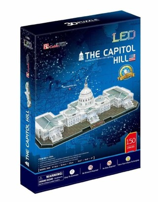3D dėlionė: The U.S Capitol