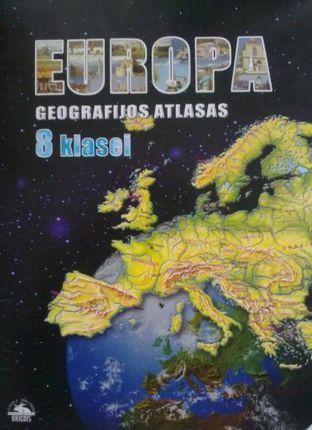 Europa. Geografijos atlasas. 8 klasei. 1998