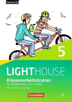 English G LIGHTHOUSE Band 5: 9. Schuljahr - Allgemeine Ausgabe - Klassenarbeitstrainer mit Lösungen und Audios online