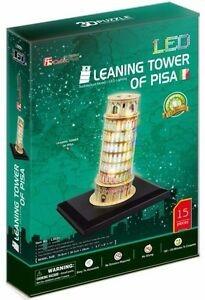 3D dėlionė: Tower of Pisa