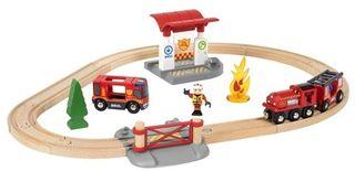 BRIO RAILWAY gaisrininkų rinkinys, 33815000