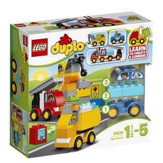 10816 LEGO® DUPLO® Mano pirmieji automobiliai ir sunkvežimiai