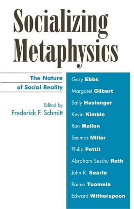 Socializing Metaphysics