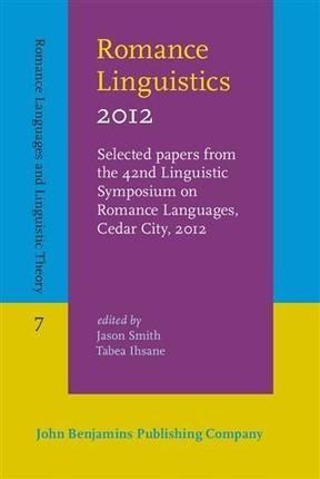 Romance Linguistics 2012