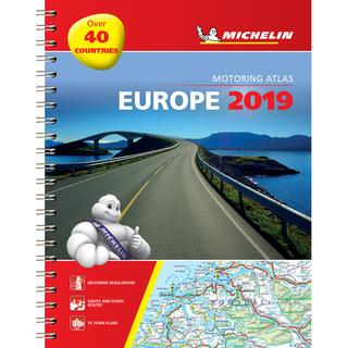 Europe 2019. Kelių atlasas