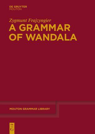 A Grammar of Wandala