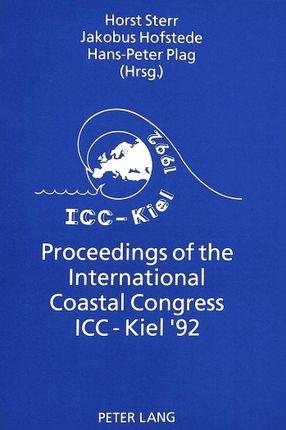 Proceedings of the International Coastal Congress ICC-Kiel '92