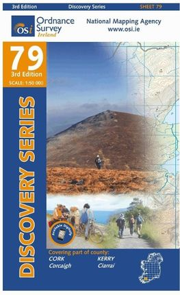 Irish Discovery Series 79. Cork, Kerry 1 : 50 000