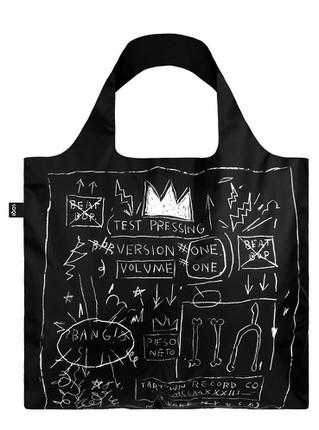 """LOQI pirkinių krepšys """"JEAN MICHEL BASQUIAT Crown"""""""