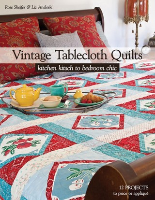 Vintage Tablecloth Quilts