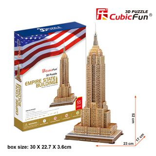 3D dėlionė: Empire State Building