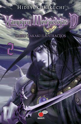 Vampyrų medžiotojas D. 2 dalis (MANGA lietuviškai!)