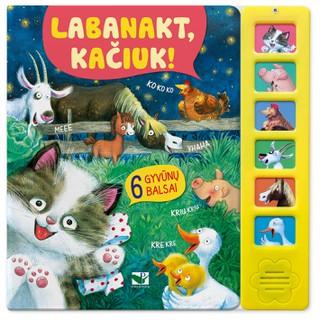 Labanakt, kačiuk! 6 gyvūnų balsai