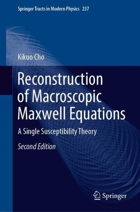 Reconstruction of Macroscopic Maxwell Equations