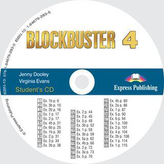 Blockbuster 4. Student's CD. Klausymo diskas