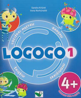 Logogo 1. Loginio mąstymo ugdymo knygelė vaikams nuo 4 m.