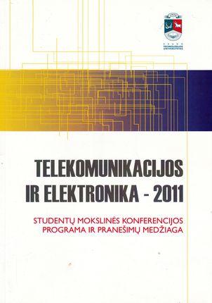 Telekomunikacijos ir elektronika - 2011