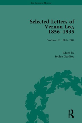 Selected Letters of Vernon Lee, 1856-1935