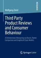 Third Party Product Reviews and Consumer Behaviour