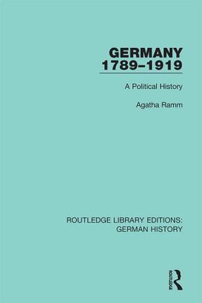 Germany 1789-1919