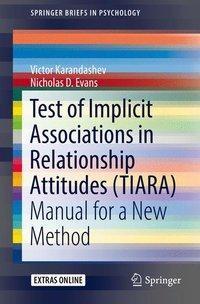Test of Implicit Associations in Relationship Attitudes (TIARA)