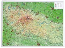 Reliefkarte Harz 1 : 200.000