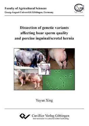 Dissection of genetic variants affecting boar sperm quality and porcine inguinal/scrotal hernia